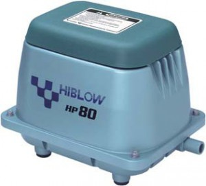 Hiblow HP 80 air pump