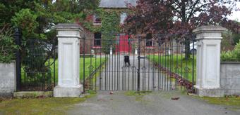 Entrance Piers Delaney Concrete